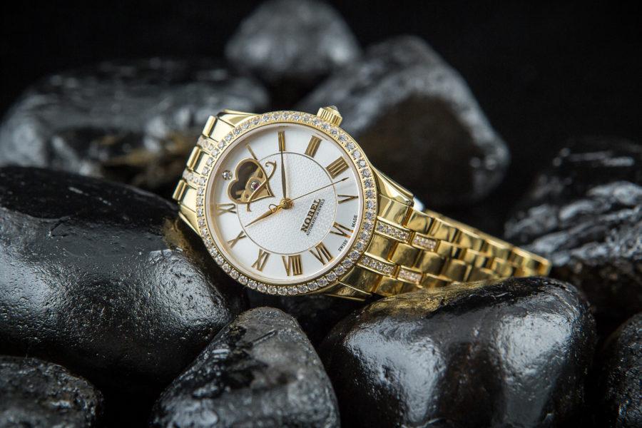 đồng hồ vàng 18K nữ Nobel