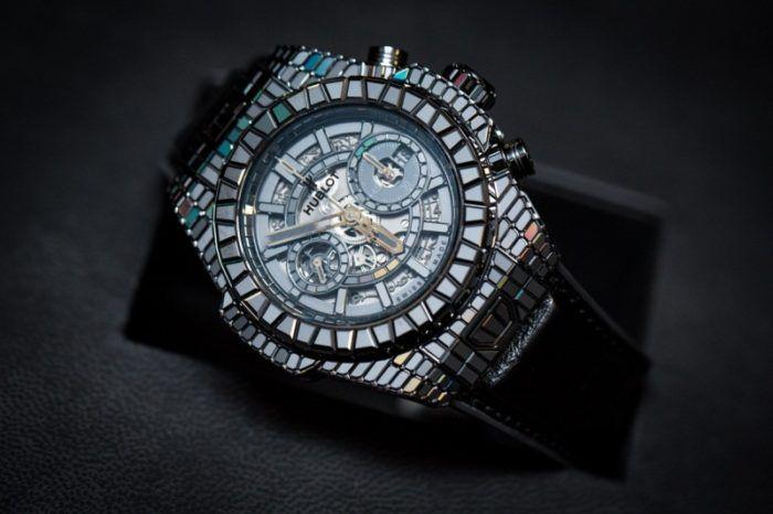 Đồng hồ Hublot đính đá nổi tiếng