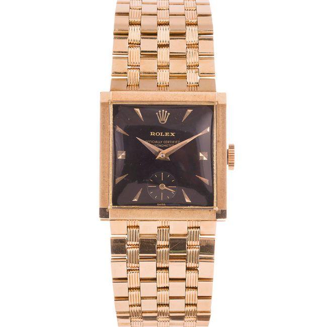 đồng hồ nam mặt vuông Rolex
