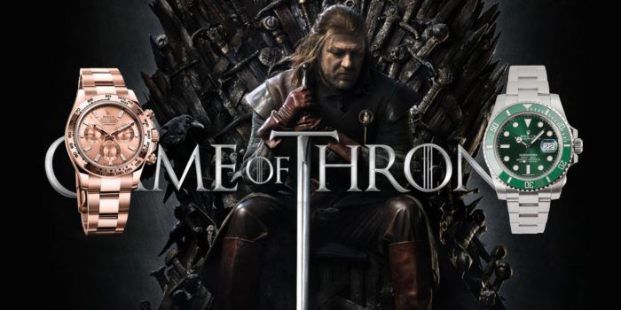 đồng hồ nam Rolex trong game of throne