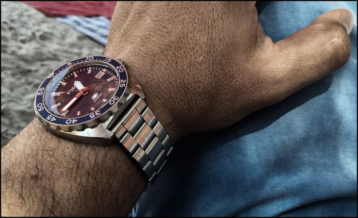 Mẫu đồng hồ Fossil all stainless steel khỏe khoắn, sang trọng