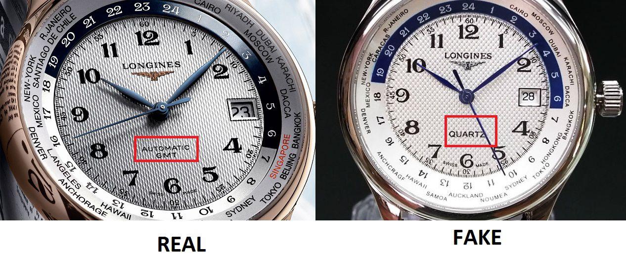 cách xem đồng hồ chính hãng