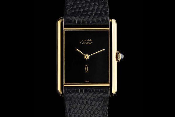 Đồng hồ hiệu Cartier-tank-must