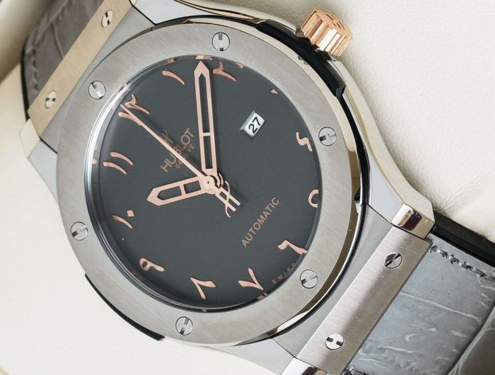 Đồng hồ Hublot dây da Classic Fusion Vision II