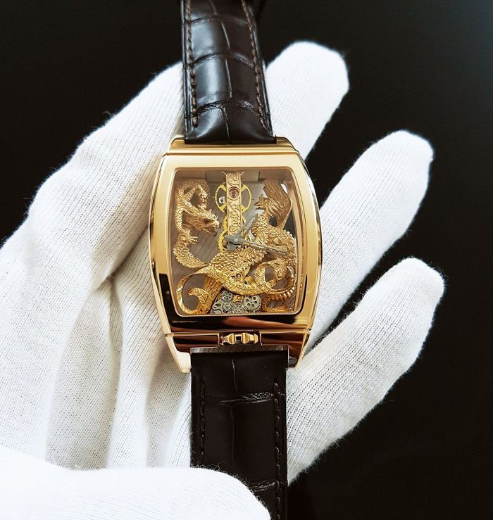 Đồng hồ Corum Golden Bridge Dragon & Phoenix