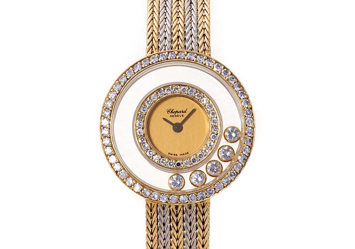 đồng hồ chopard happy diamond
