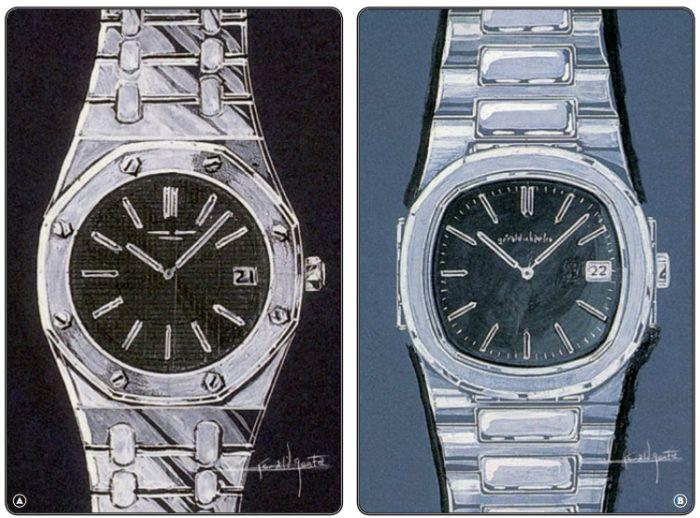 Đồng hồ Patek Philippe Royal Oak và Nautilus