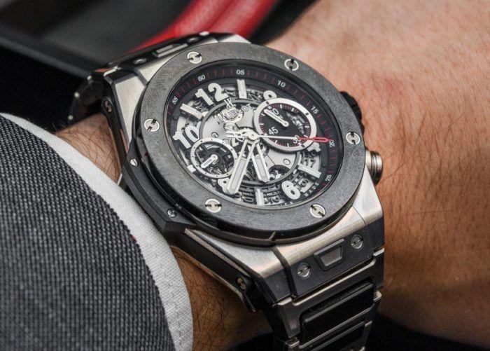 cách sử dụng đồng hồ Hublot 5 kim