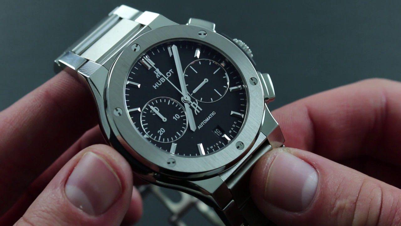 đồng hồ hublot dây kim loại