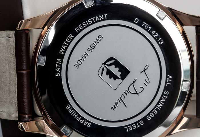 thông số kĩ thuật của chiếc đồng hồ