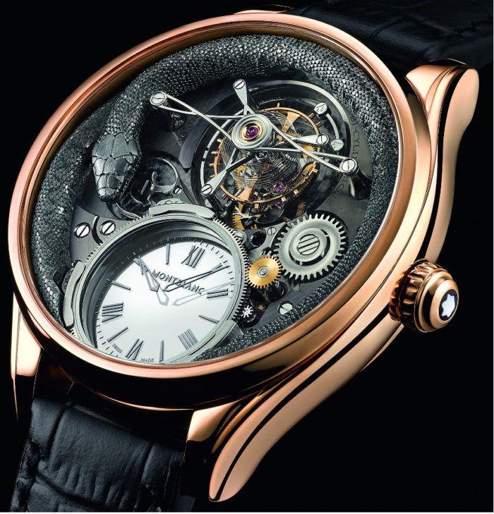 đồng hồ hiệu MontblancVilleret Tourbillon Bi-Cylindrique