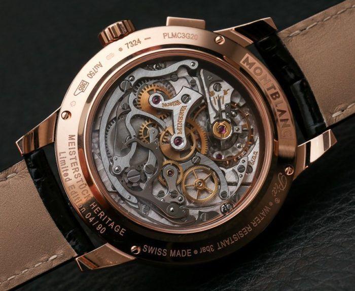 Bộ máy của chiếc đồng hồ Montblanc
