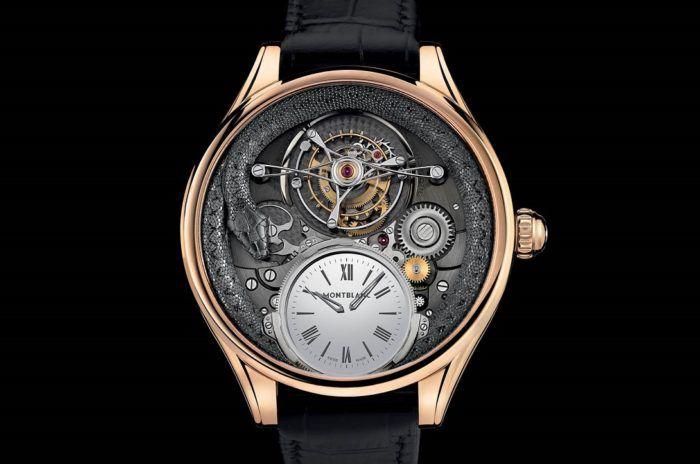 đồng hồ Montblanc chính hãng Villeret Tourbillon Bi-Cylindrique