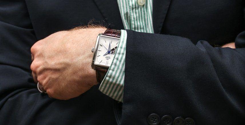 thay dây da đồng hồ Orient chính hãng