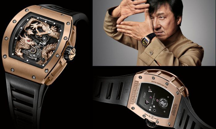 Thành Long cùng chiếc đồng hồ Richard Mille