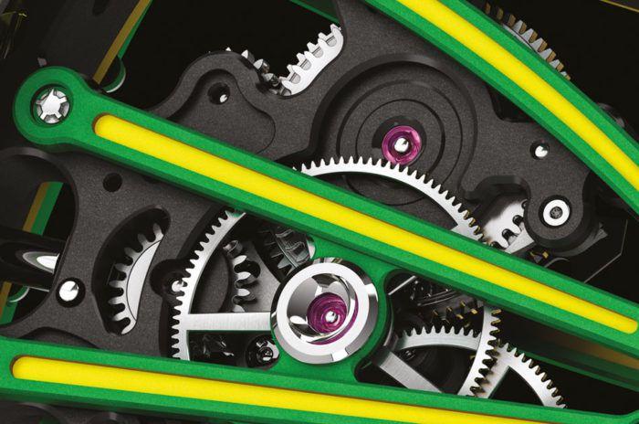 Bộ máy đồng hồ Richard Mille