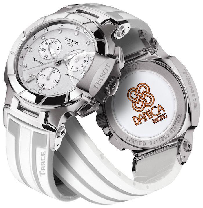 Đồng hồ nữ Tissot đẹp T-Race Danica Patrick phiên bản 2012