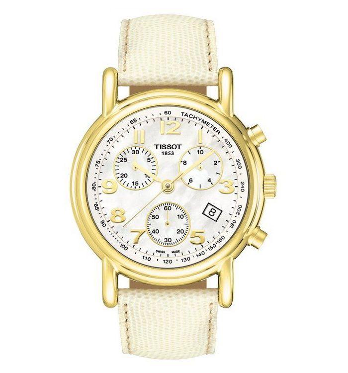 Đồng hồ nữ Tissot đẹp Carson Ladies Chronograph
