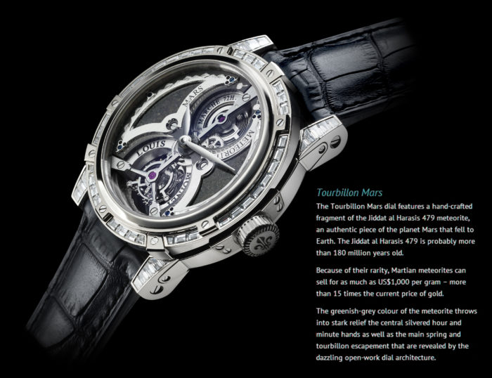 đồng hồ cao cấp nhất thế giới chứa 4 Tourbillon