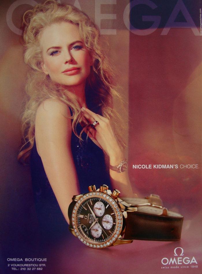 mẫu đồng hồ Thụy Sỹ nữ omega