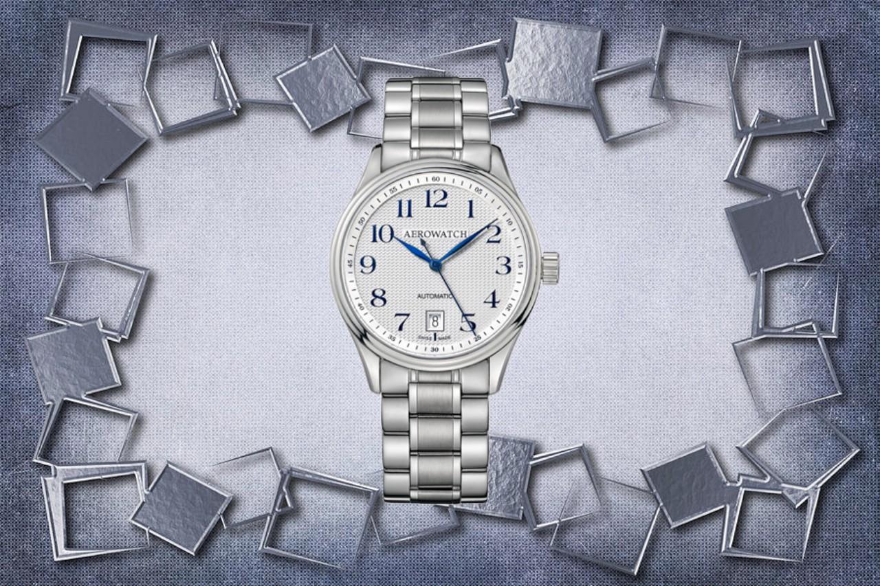 Bộ sưu tập 4 mẫu đồng hồ Aerowatch Automatic tuyệt đẹp