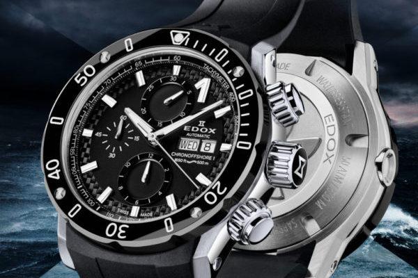 Đánh giá đồng hồ Edox automatic