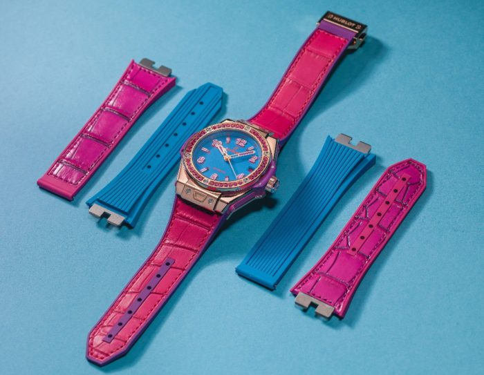 dây đồng hồ Hublot nữ