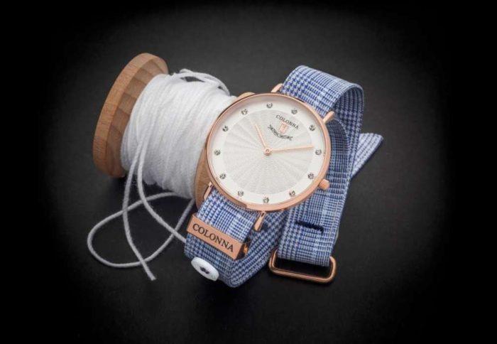 Đồng hồ Colonna Quartz dây vải