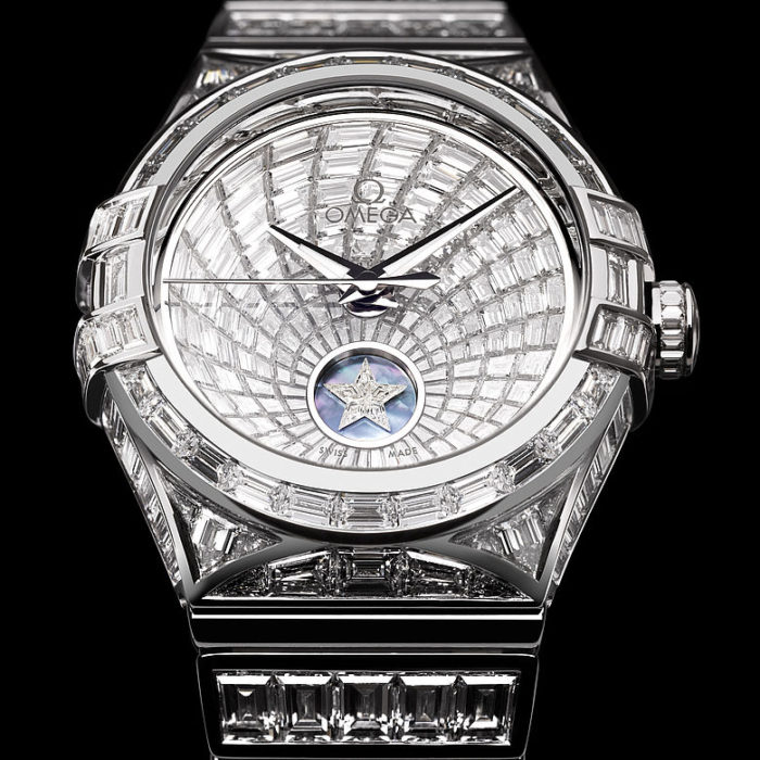 đồng hồ Omega đắt nhất thế giới gắn đá quý