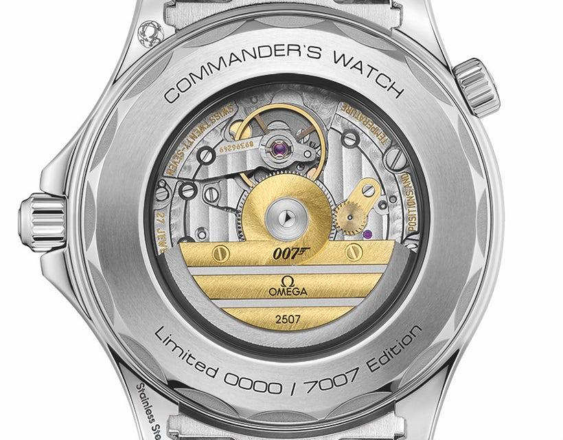 Mẫu đồng hồ này chỉ được sản xuất giới hạn 7007 chiếc