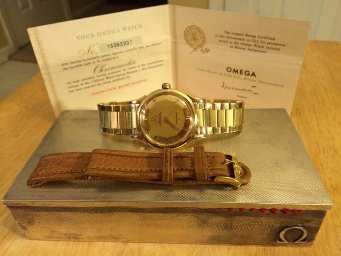 Đồng hồ Omega mặt bát quái có giá bao nhiêu?