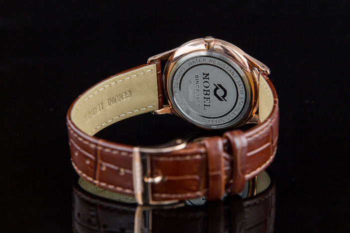 Chất liệu vỏ của đồng hồ Nobel có bền không