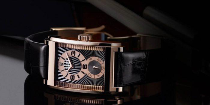 Đồng hồ Rolex dây da nam