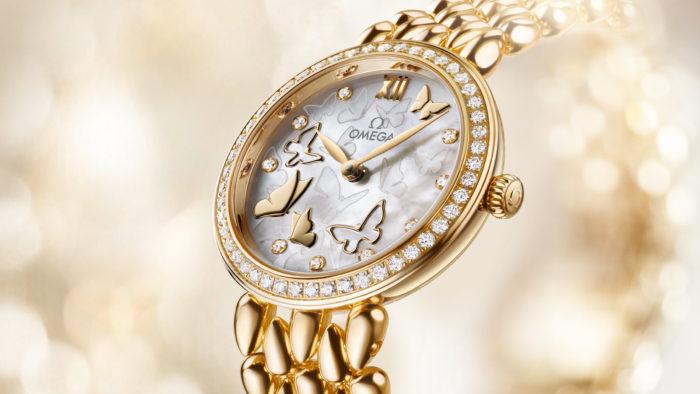 đồng hồ Omega nữ dây kim loại đẹp mê hồn người