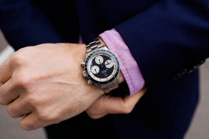 cách chỉnh giờ đồng hồ Rolex