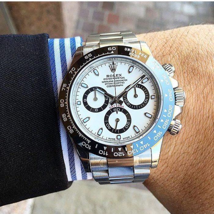 chỉnh giờ đồng hồ Rolex cho người mới