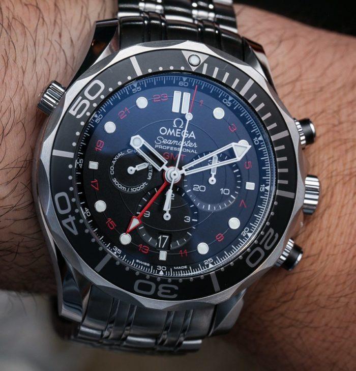 Mặt hiển thị độc đáo của đồng hồ Omega 6 kim