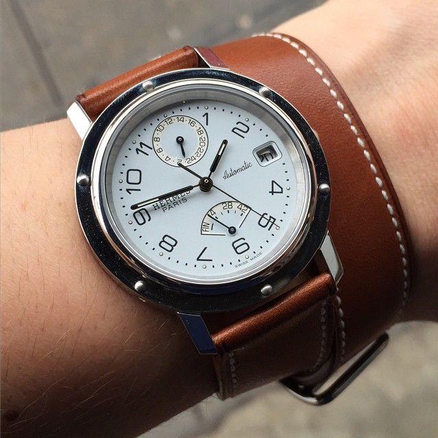 Giá đồng hồ Hermes ăn theo giá trị thương hiệu