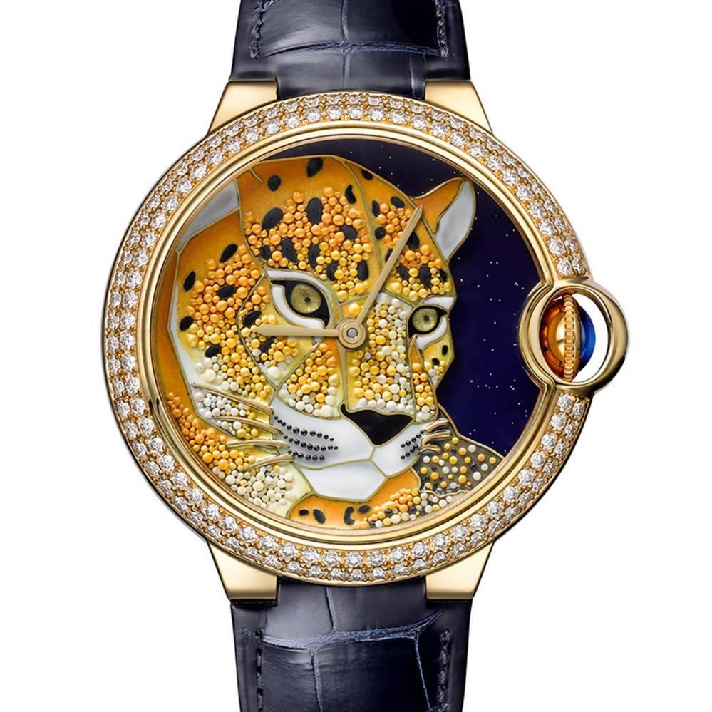 đồng hồ Cartier đính đá Panthere 2