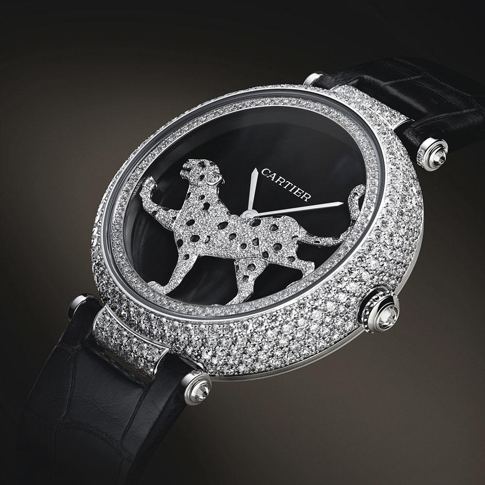 đồng hồ Cartier đính đá Panthere