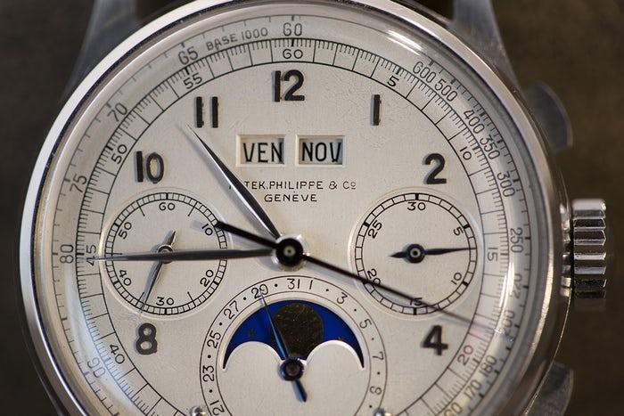 Mặt số đồng hồ Patek Philippe đắt nhất thế giới 1518