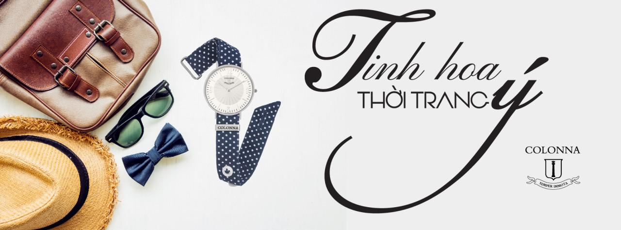 đồng hồ dây vải nữ
