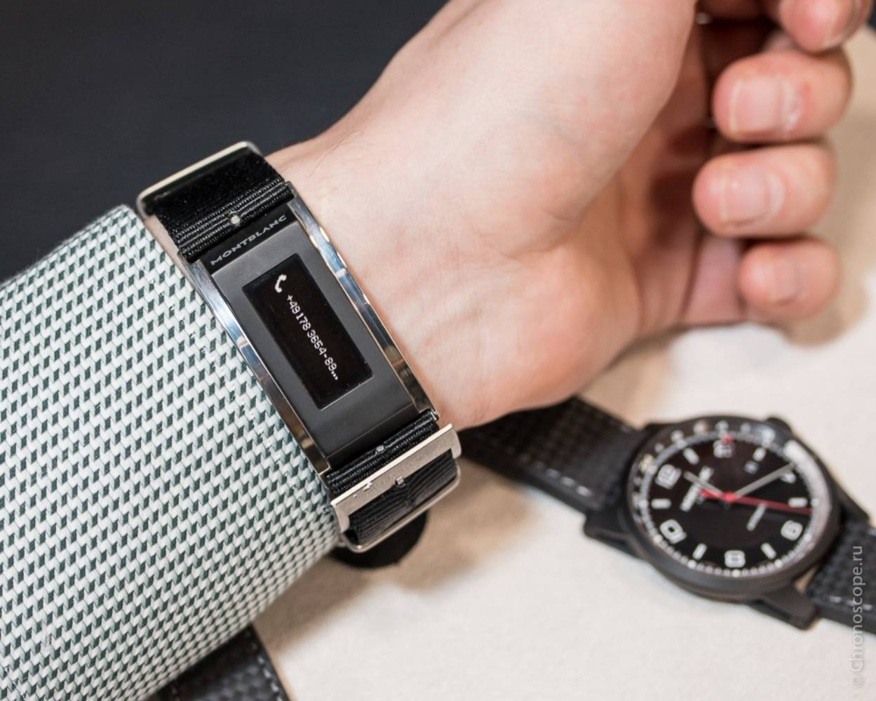 dây đồng hồ Montblanc E-strap