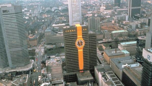 đồng hồ Thụy Sỹ Swatch đã gây chấn động mạnh với cánh báo chí