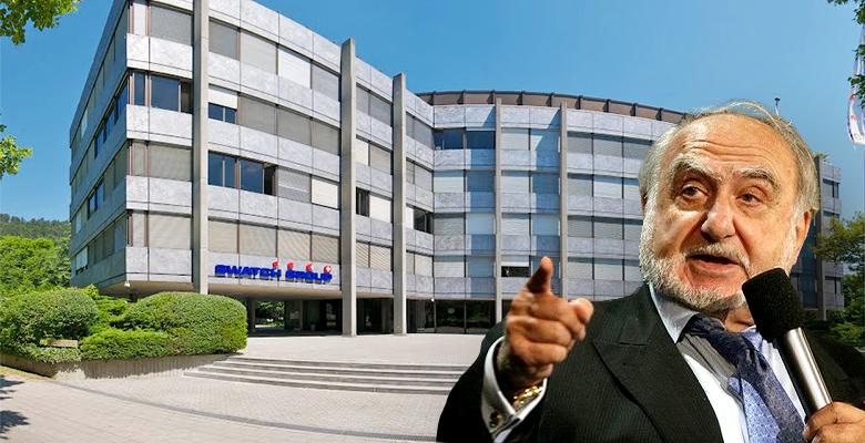 Ngài Nicolas Hayek- Người thành lập nên tập đoàn Swatch