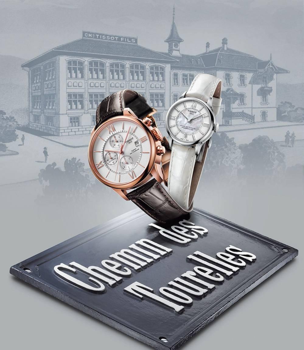 bộ sưu tập đồng hồ Tissot dây da