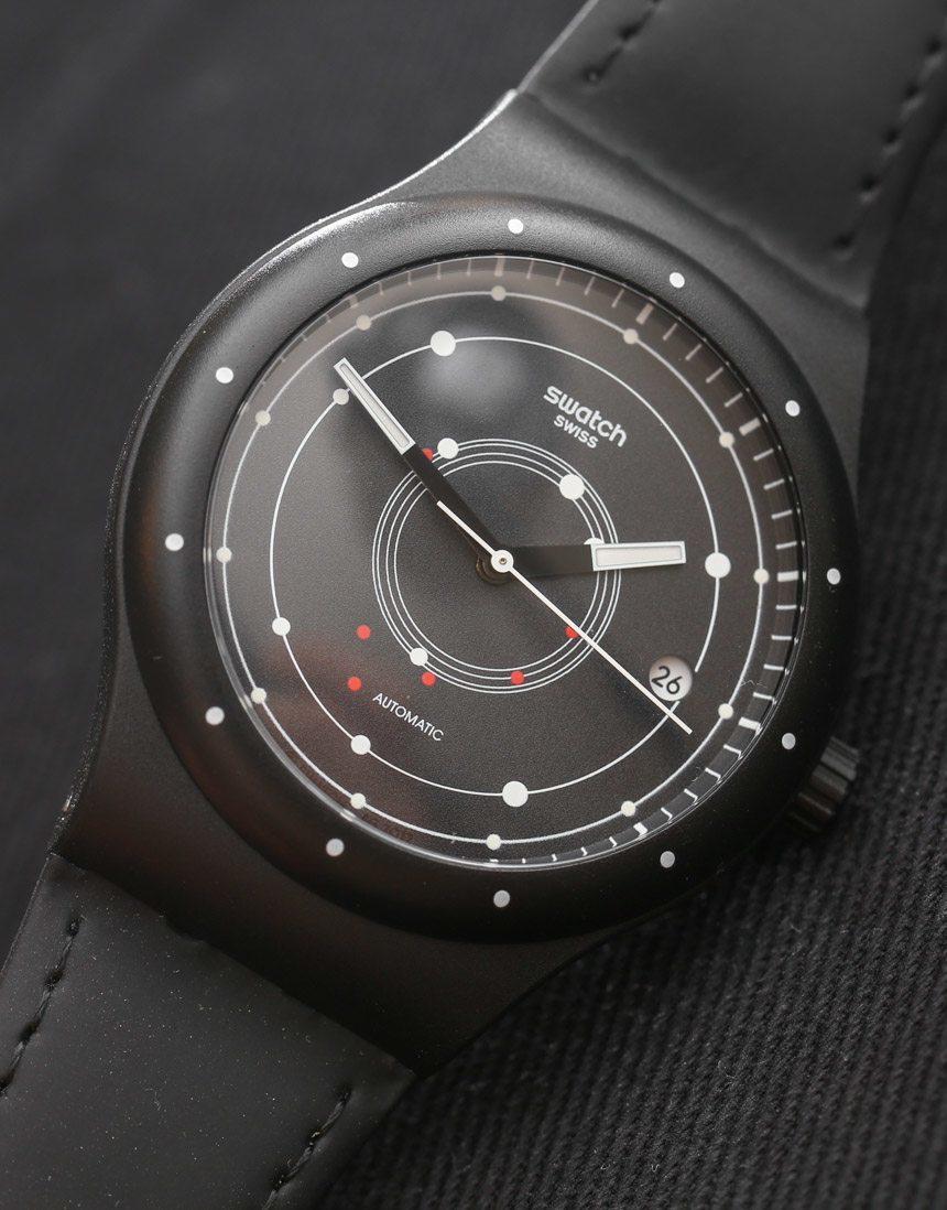 Kích cỡ Swatch Sistem là 41mm, phù hợp với cổ tay của phái nam