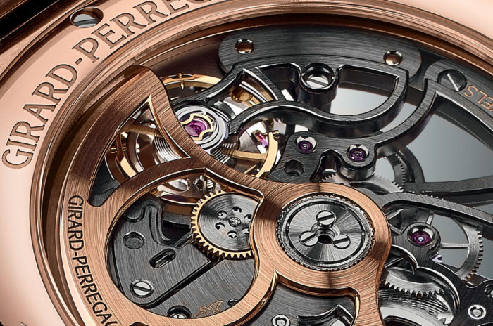Bộ máy đồng hồ Girard Perregaux Laureato Skeleton