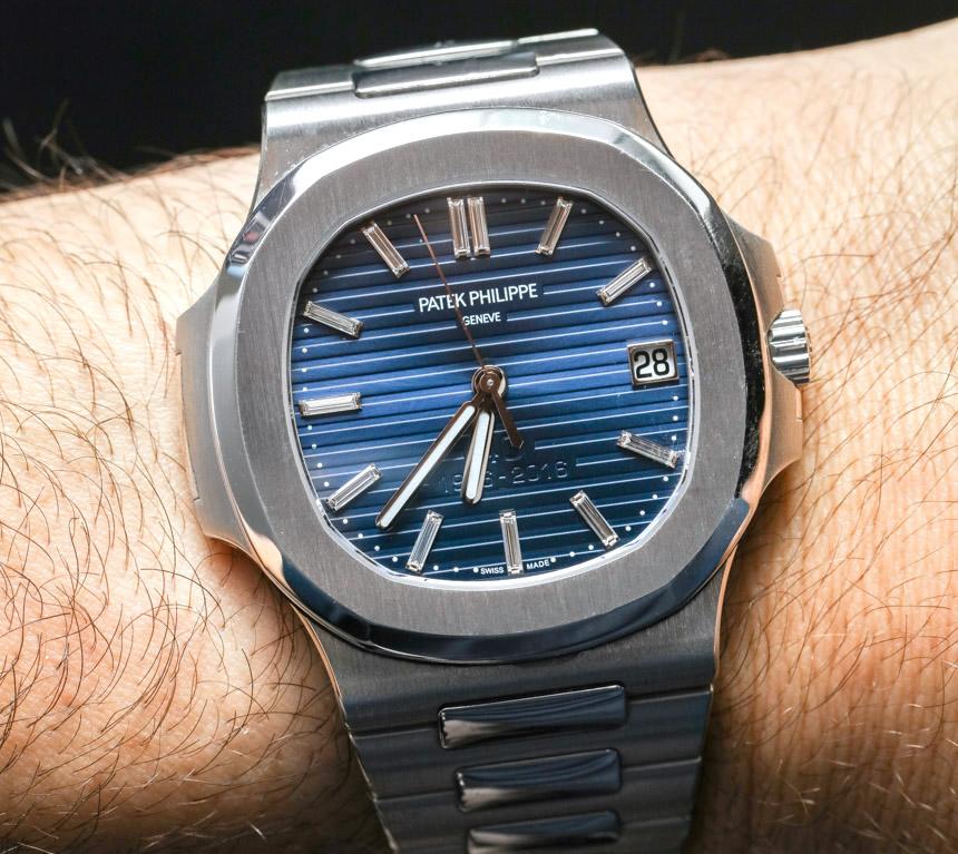 Thiết kế đồng hồ Patek Philippe Nautilus 5711/1P Platinum
