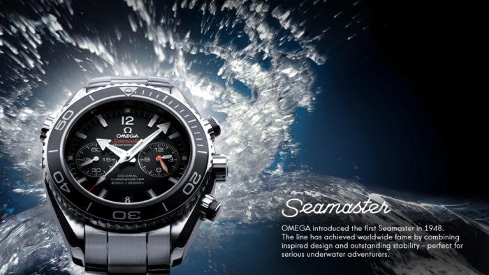 Đồng hồ cao cấp Thụy Sỹ Omega Seamaster